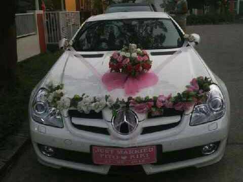 Sewa mercy clk, Sewa-rental-mobil-mewah- slk-pengantin-wedding car